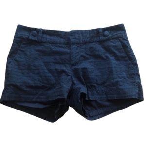 BANANA REPUBLIC Eyelet Black Shorts Size 2